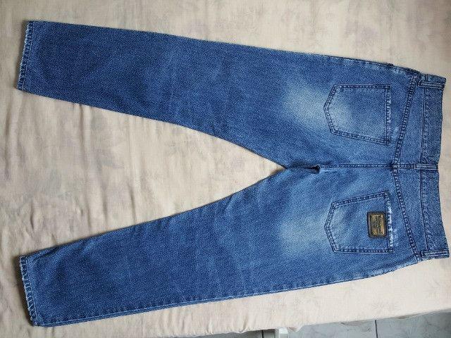 Calça jeans dolce&gabbana placa da marca - Foto 2