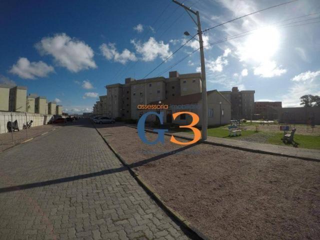 Apartamento com 2 dormitórios à venda, 45 m² por R$ 125.000,00 - Vila Braz - Rio Grande/RS - Foto 3