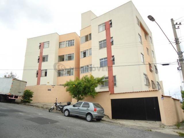 Apartamento à venda com 3 dormitórios em Heliópolis, Belo horizonte cod:476903