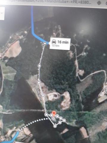 Urgente!!!Torro terreno proximo do asfalto br 116 1km - Foto 7