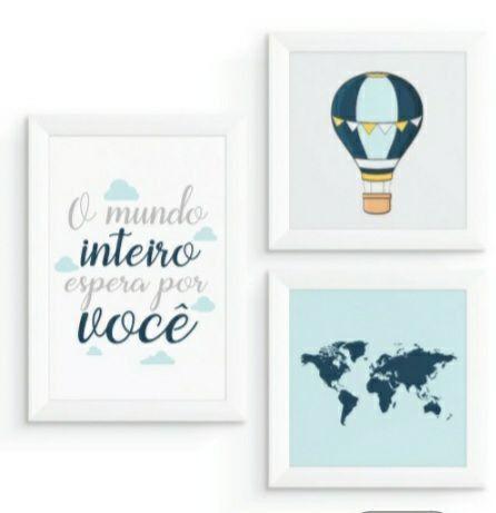 Kit Quarto Menino viajante  - Foto 2