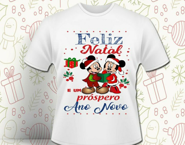 Camisa para o Natal
