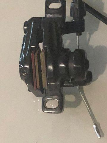 Jogo de freio Radius CX7, mecânico, 160mm (NOVO) - Foto 4