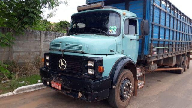 Caminhão Mercedes 15/17 Boiadeiro - Foto 9
