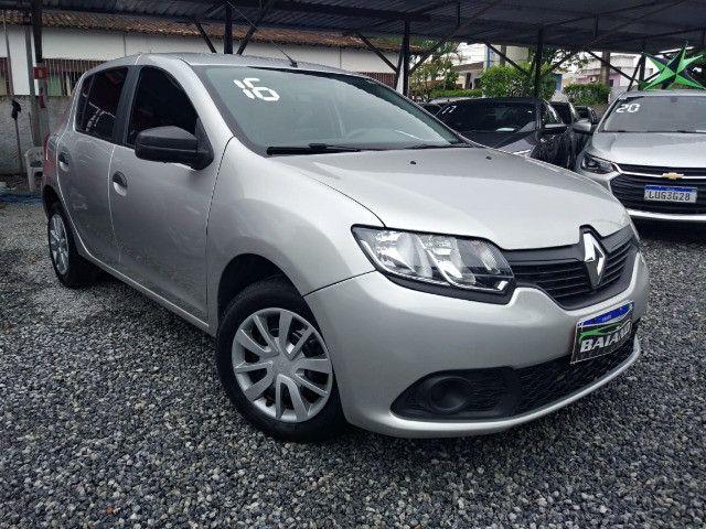 Renault - Sandero Auth 1.0 - 2016 - Flex