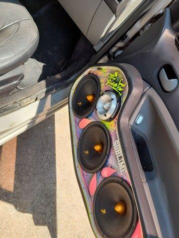 Fiesta hatch 1.6 ou troco ou agio - Foto 6