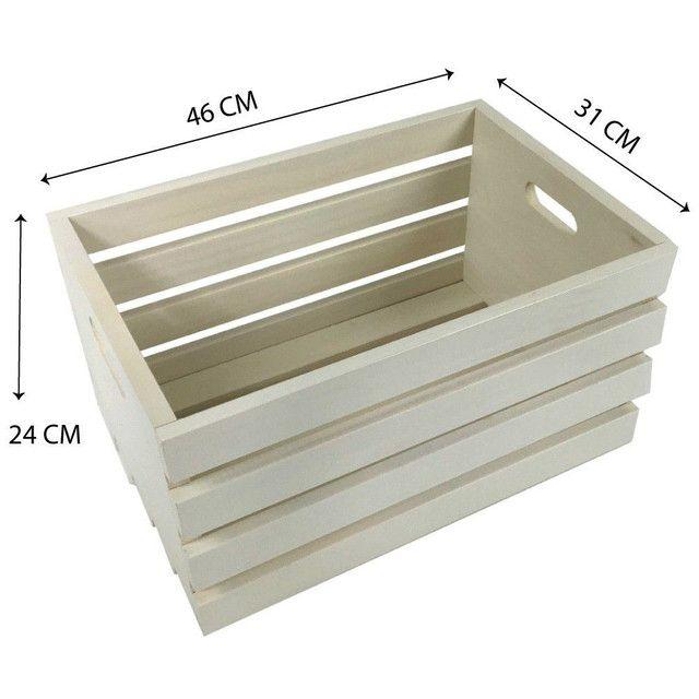 Caixote de madeira - Foto 2