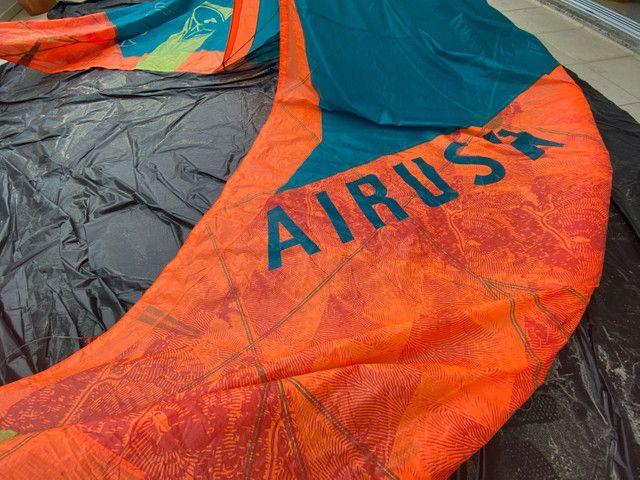 Kite Airush Ultra 12 M c/ barra - O mais leve do mercado - Foto 4