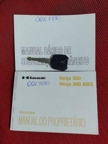 Manual  ninja 300