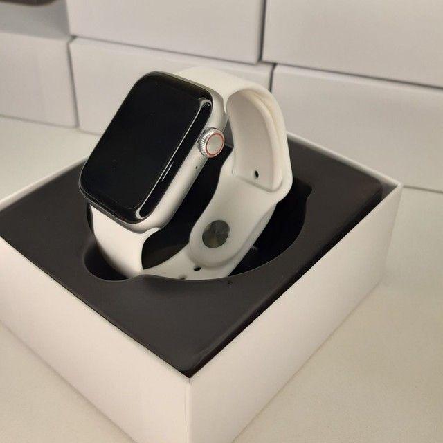 Kit Smart - Smartwatch IWO 26 + Pulseira Milanesa Extra + Película Protetora para Tela  - Foto 3