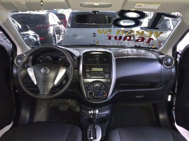 Nissan Versa 1.6 SV 2018 Automático com GNV - Foto 7