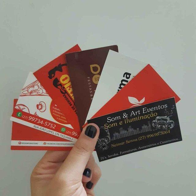 Tag de roupa, cartões de agradecimento, cartão de Visita.  - Foto 6