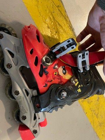 Patins roller infantil - Foto 2