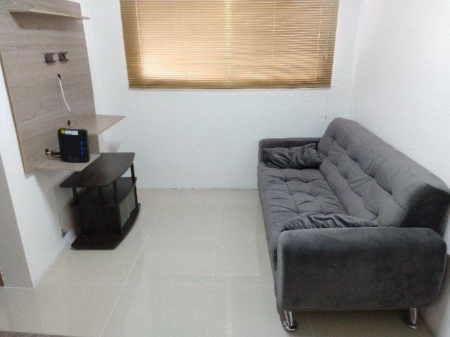 Vendo apartamento semimobiliado térreo 2 quartos - Foto 15