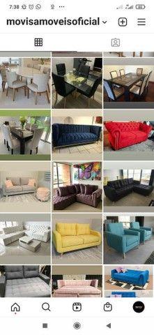 Reforma de sofá/ Fabricação/ Poltrona/ Cabeceira - Foto 5