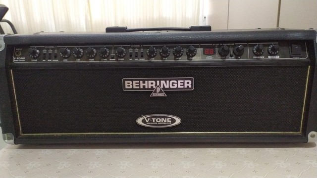 Cabeçote Para Guitarra Behringer V-tone Gmx 1200h