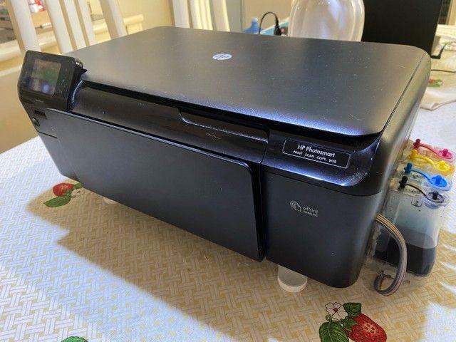 Impressora hp funcionando