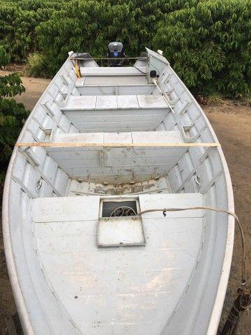 Barco com motor 40HP  - Foto 3