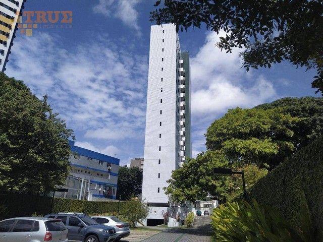 Apartamento com 3 dormitórios à venda, 72 m² por R$ 430.000,00 - Aflitos - Recife/PE - Foto 16