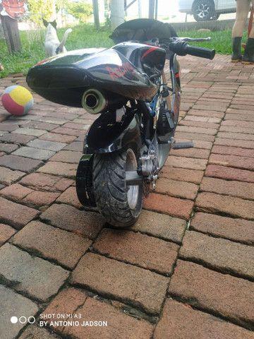 Mini moto a motor - Foto 4