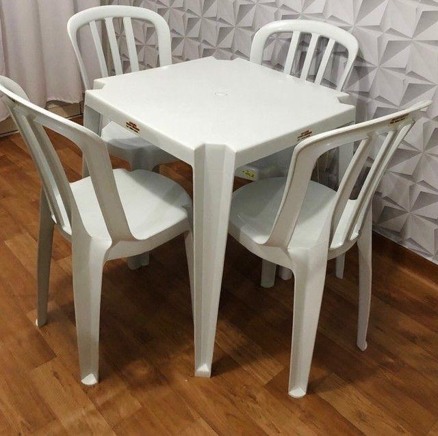 Locação de jogos mesa/cadeiras para eventos  - Foto 2