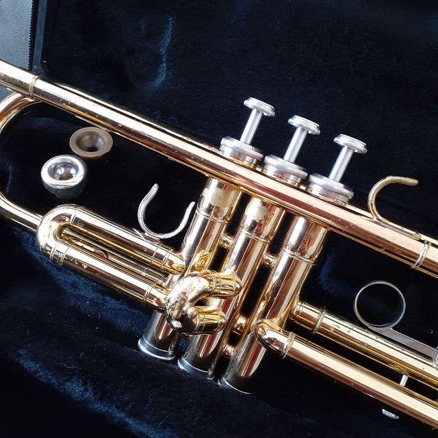 Trompete Yamaha -YTR 2335 - Dourado - Foto 6