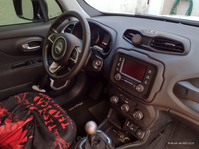 Jeep Renagade Sport MT Branca - Foto 3