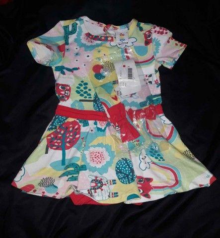 Vestido zig zig zaa pra princesa tamanho 3 - Foto 6
