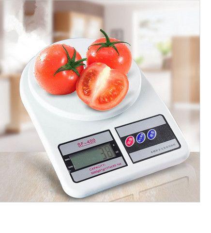Balança de Cozinha Digital Megatom 7 Kg SF400 com Tara MGT - Foto 4