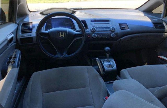 C\ Leia a descrição - Honda civic LXS Aut. - Financio e Troco - Foto 5
