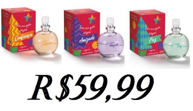 perfume 25ml, kits feminino, bem me quer, eliana ....* - Foto 6