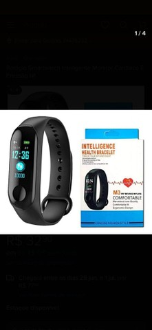 Relógio Inteligente Bluetooth