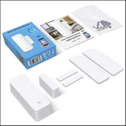 Sensor Inteligente Wifi Porta Janela Alexa Google Home Ds06 - Foto 4