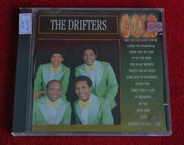 Cd the drifters best hits 1993 made in germany usado