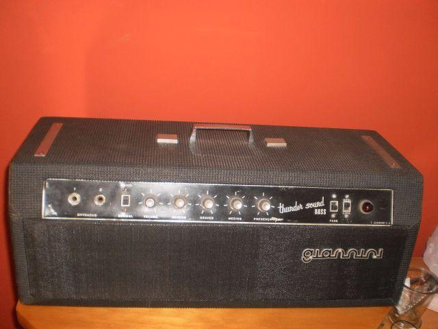 Amplificador giannini thunder sound