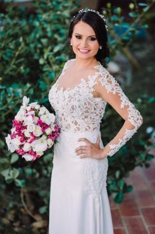 Vestido de Noiva - Único Uso