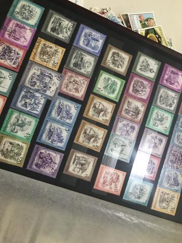 Selos dos mundo todo, Filatelia