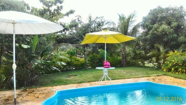 Chácara de 10.000m² no Corumbá III. Casa, piscina aquecida, área de lazer c/ churrasqueira - Foto 2