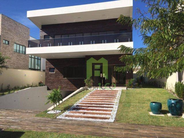 CA0039 - mansão triplex condomínio alphaville eusébio