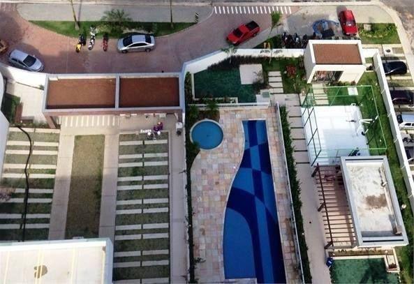 Pronto para Morar Cond. Reserva Morada no Aleixo 90m² c/02suites + 01dormt/ Visite o Decor