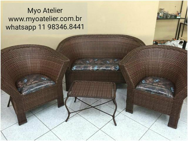 Mesas e Cadeiras em ferro e aluminio - Foto 5