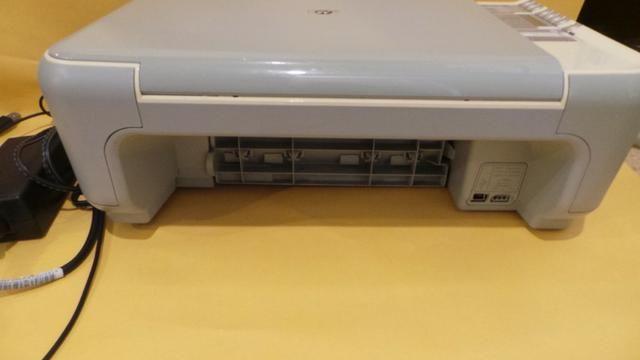 Impressora hp photosmart c 3180 scanner copiadora funcionando sem cartuchos! - Foto 4