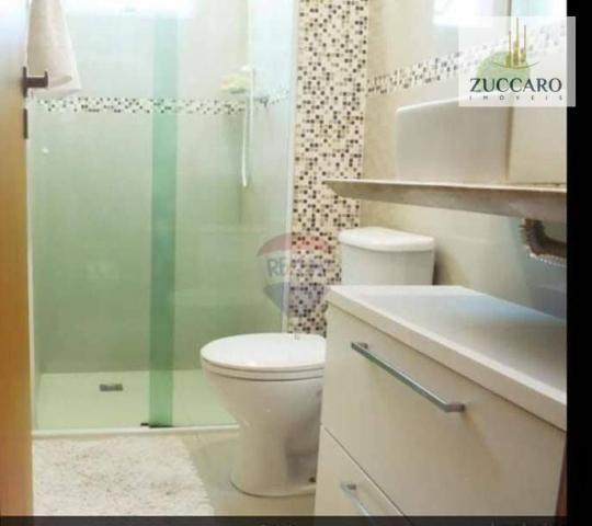 Apartamento com 2 dormitórios à venda, 54 m² por r$ 285.000,00 - vila sirena - guarulhos/s - Foto 18