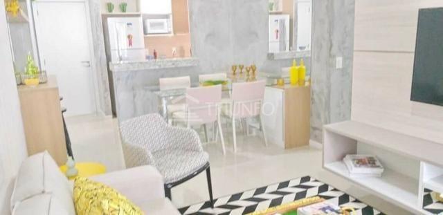(MRA) Apartamento no Papicu, 78m², 3 Quartos, 2 Vagas, Green Garden da Idibra, Lançamento - Foto 3