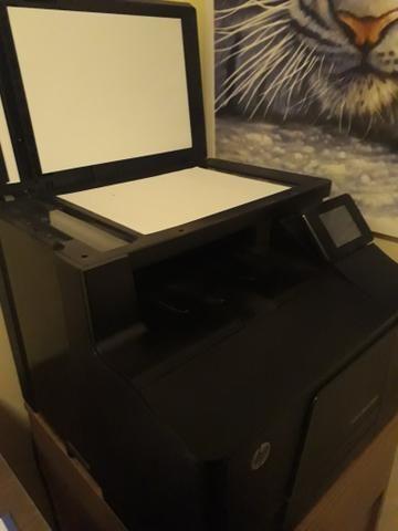 Impressora HP Multifuncional Color LaserJet Pro 200 m276nw - Foto 2