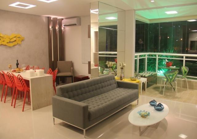 (JR) Apartamento 98m² No Cocó > Fino acabamento > 3 Quartos > Varanda Gourmet! - Foto 2