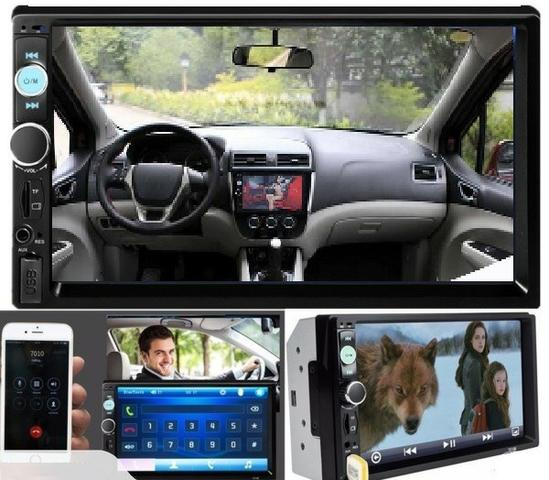 Central Multimídia Display Digital Bluetooth, Usb, Fm - Foto 11