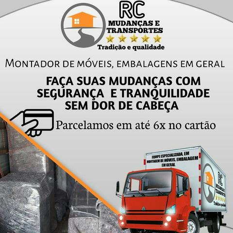 RC 5ESTRELAS MUDANÇAS CARRETOS para todo Brasil