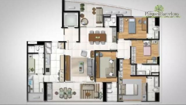 Apartamento 4 quartos Horto Florestal - Parque Barcelona - Foto 6