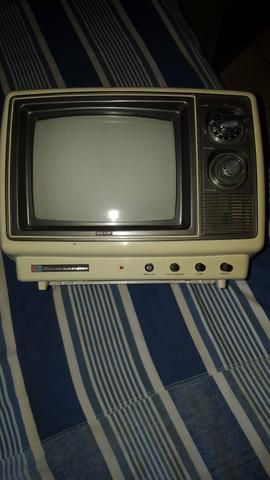 TV antiga para colecionador